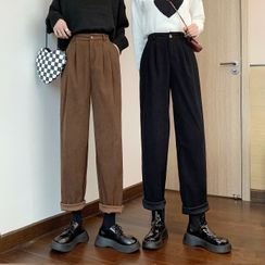 Shinsei - Straight Leg Corduroy Pants