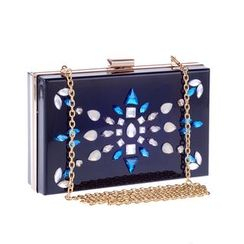 Moonflower - Rhinestone Clutch