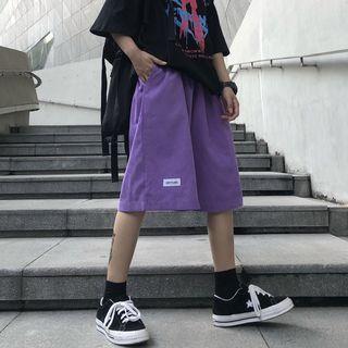 2DAWGS - Applique Wide-Leg Shorts