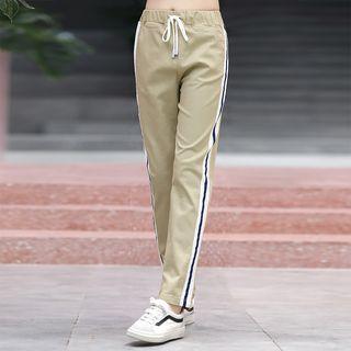 YICON - 條紋運動褲