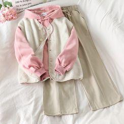 PUYE - Fleece Vest / Plain Hoodie / Loose-Fit Pants