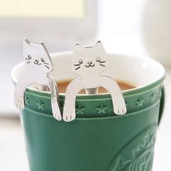 雲木良品 - 貓型不銹鋼咖啡勺