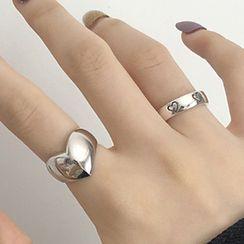 Korrs - Heart Open Ring