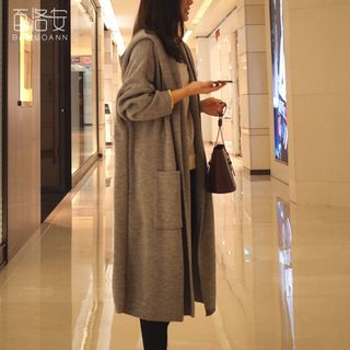Carmenta - Hooded Knit Coat