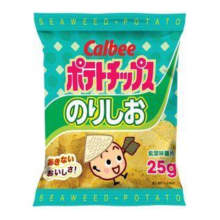 Calbee - Potato Chips Seaweed Flavor 25g