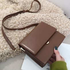 BAGUS - Faux Leather Crossbody Bag
