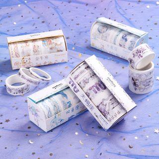 Dukson - Set: Zodiac Print Masking Tape