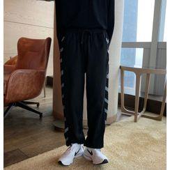Mr. Wordy(ミスターワーディ) - Patterned Harem Pants