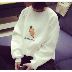 Ukiyo - Besticktes Sweatshirt