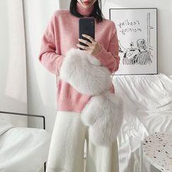 Alpaca - Mock-Neck Sweater