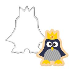 Nastaccey - Penguin King Cookie Mold