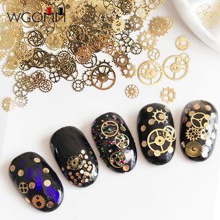 WGOMM - Metal Nail Art Decoration Box