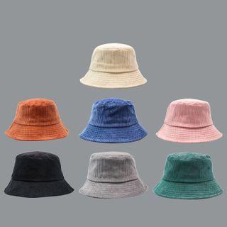 Incognito - Plain Corduroy Bucket Hat