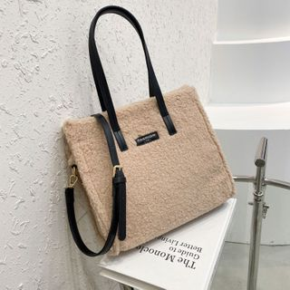 Shimmerfly - 仿羊毛手提袋