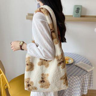CIMAO - Teddy Bear Fleece Tote Bag