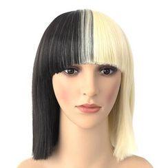 VIDO - 双色中款假发 - 直发