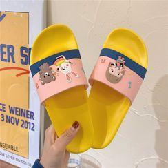 ZORI - Cartoon Print Slippers