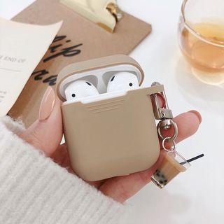 Aion - Milk Tea Silicone Apple EarPods Earphone Case Cover