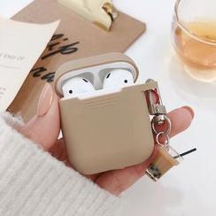 Aion - 珍珠奶茶矽胶苹果EarPods耳机保护套