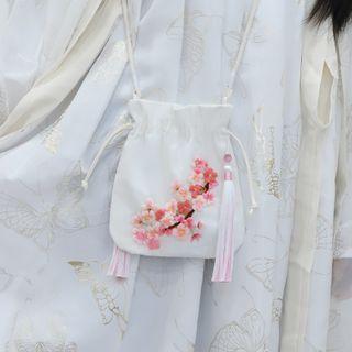 candycross - 吊苏斜挎包DIY刺绣材料包