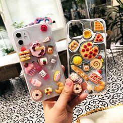 NISI - Miniature Food Transparent Phone Case - iPhone 12 / iPhone 11 Pro Max / 11 Pro / 11 / SE / XS Max / XS / XR / X / SE 2 / 8 / 8 Plus / 7 / 7 Plus
