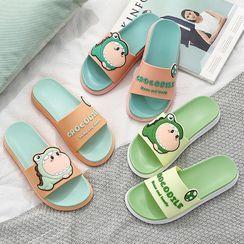 Yulu - 卡通浴室拖鞋