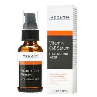 YEOUTH - Vitamin C & E Day Serum with Hyaluronic Acid