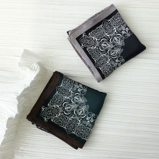 Soiea - 印花丝围巾