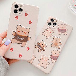 Primitivo - Bear Phone Case - iPhone 11 Pro Max / 11 Pro / 11 / SE / XS Max / XS / XR / X / SE 2 / 8 / 8 Plus / 7 / 7 Plus