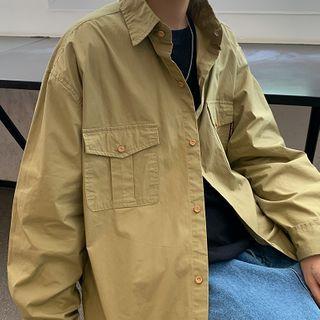 BORGO - Pocketed Shirt