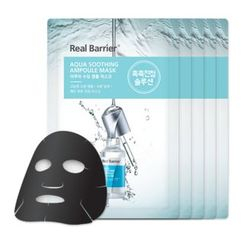 Real Barrier - Aqua Soothing Ampoule Mask Set 5pcs