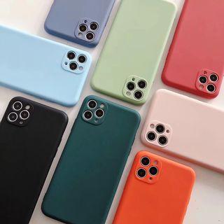 Vachie - Plain Phone Case - iPhone 11 Pro Max / 11 Pro / 11 / XS Max / XS / XR / X / 8 / 8 Plus / 7 / 7 Plus / 6s / 6s Plus