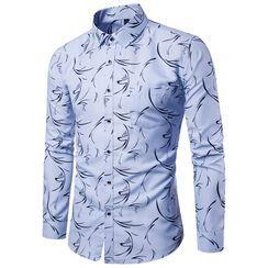 Andrei - Long-Sleeve Printed Shirt