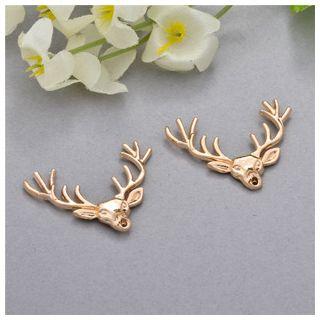 Mamak Beans - Deer Collar Pin