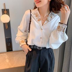 SUMMO - Embroidered Blouse