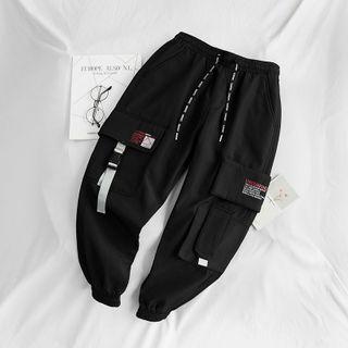 Iolaus - Printed Cropped Harem Pants