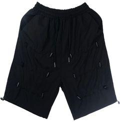 Banash - 抽绳及膝短裤