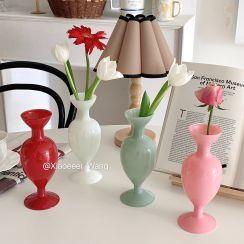 Olsin - Retro Plain Glass Vase