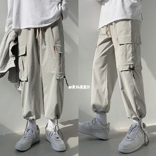 Wewewow - Buckled Cargo Pants