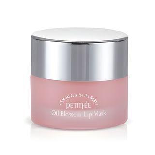 PETITFEE - Máscara para labios Oil Blossom Lip Mask (Aceite de semillas de camelia) 15g