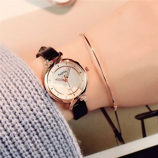 Teep - Round Dial Strap Watch