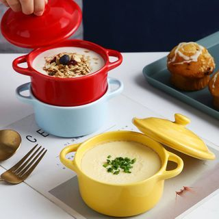 Popcorn - Plain Ceramic Stew Pot
