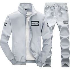 Carser - Set: Print Zip Jacket + Sweatpants