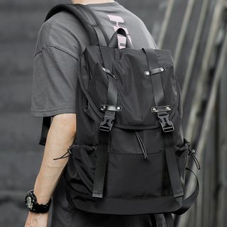 Moyyi - Buckled Laptop Backpack