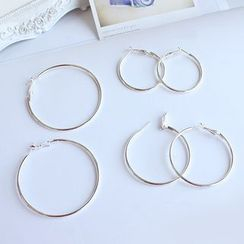 Joodii - Hoop Earrings (Various Designs)
