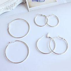 Joodii - 圈環耳環 (多款設計)