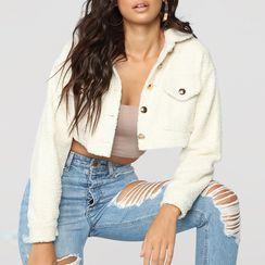 Vanduous  - Cropped Fleece Jacket
