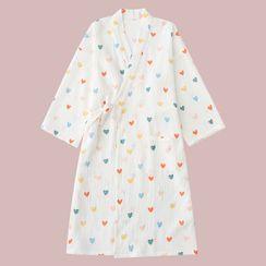 Miaowsha - Print Pajama Robe