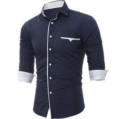 Hansel - Slim-Fit Dress Shirt