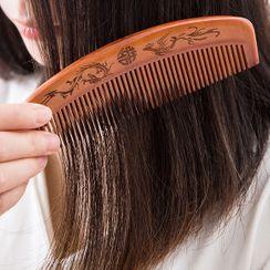 Popcorn - Wooden Hair Comb